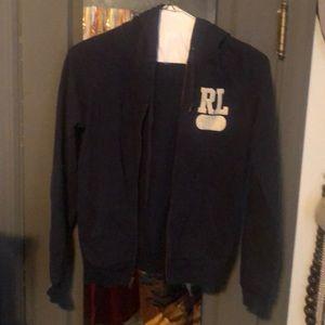 Ralph Lauren zippered hoodie